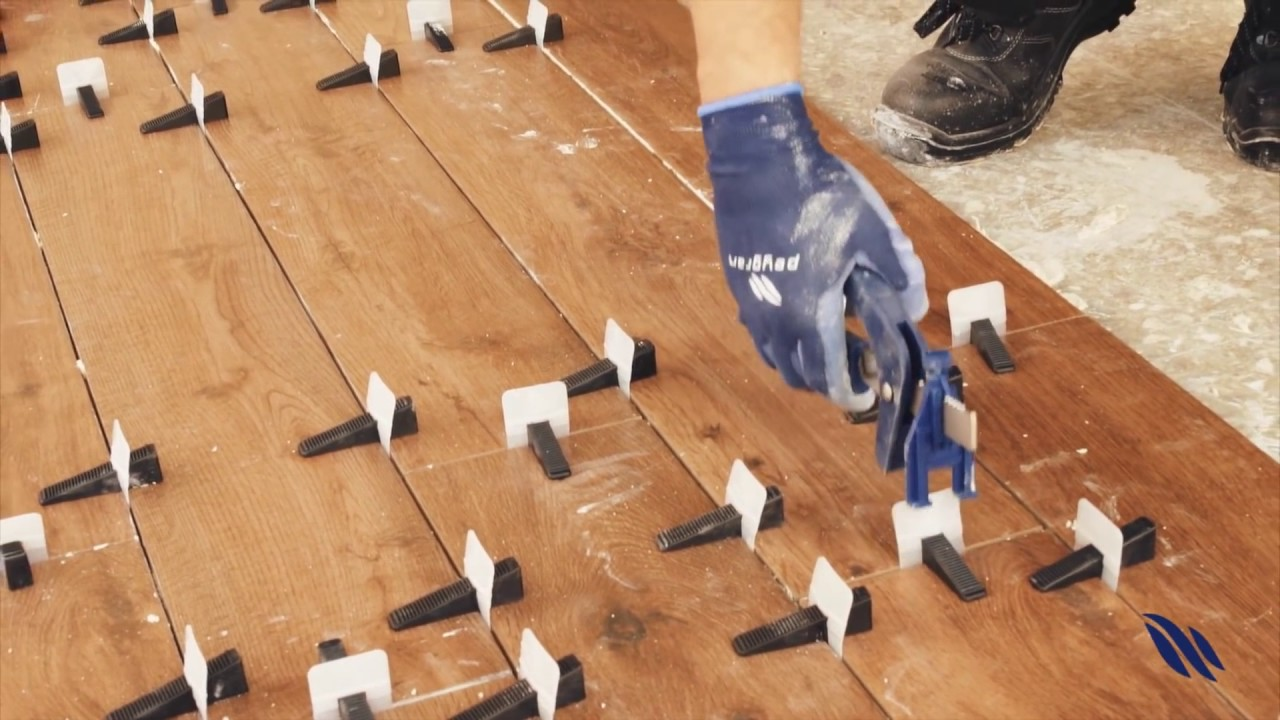 how to use tile leveling clips by peygran
