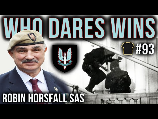 The Iranian Embassy Siege | Robin Horsfall SAS | Special Air Service | Bought The T-Shirt Podcast