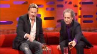 Eddie Izzard and Harry Shearer on The Graham Norton Show Oct 2008 part 1 of 4