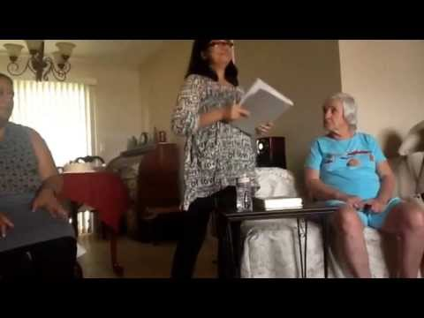 LOTN Las Vegas ~ Mary & Martha women's ministry. What makes a real woman?