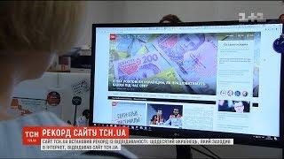 Сайт ТСН.ua встановив історичний рекорд за охопленням аудиторії