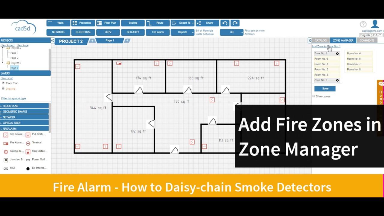 maxresdefault cad5d fire alarm how to daisy chain smoke detectors youtube Daisy Chain Circuits at reclaimingppi.co