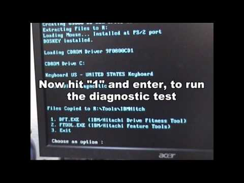 detect faulty hdd / How to Check your hard disk for errors
