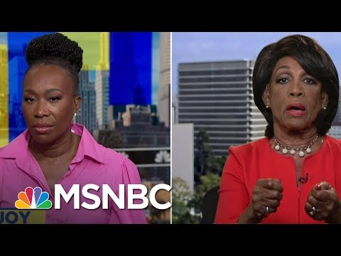 Rep. Maxine Waters: Lindsey Graham Has Thumbed Nose At America | AM Joy | MSNBC