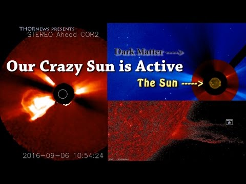 Our Crazy Sun is spewing Dark Matter! Solar Flare! Giant CME! Sundiving Comet! Massive Filaments!
