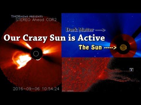 Our Crazy Sun is spewing Dark Matter! Solar Flare! Giant CME! Sundiving Comet! Massive Filaments!