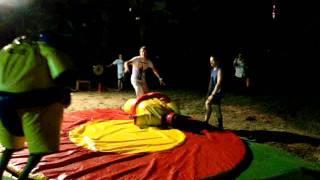 Лазаревское 2011-Битва сумоистов-развлечение
