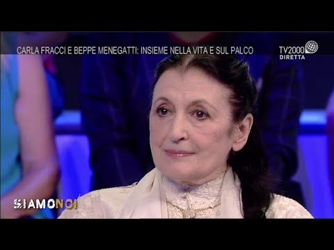 Siamo Noi - Carla Fracci e Beppe Menegatti: insieme sul palco e nella vita
