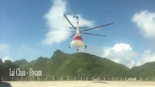Trực thăng Mi17 cứu trợ thiên tai tại Lai Châu