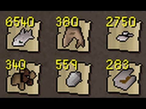 Loot from 10 hours of Rogues' chests