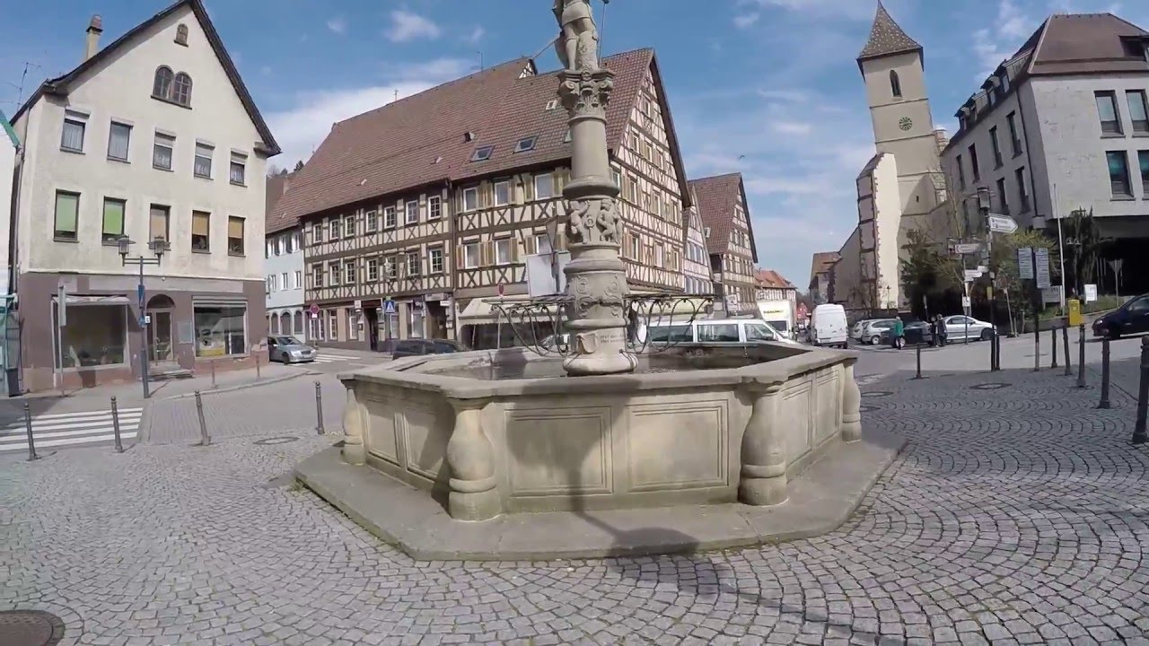 street view horb am neckar in germany youtube. Black Bedroom Furniture Sets. Home Design Ideas