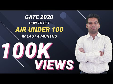 Get AIR Under 100 in last 4 months..GATE 2019