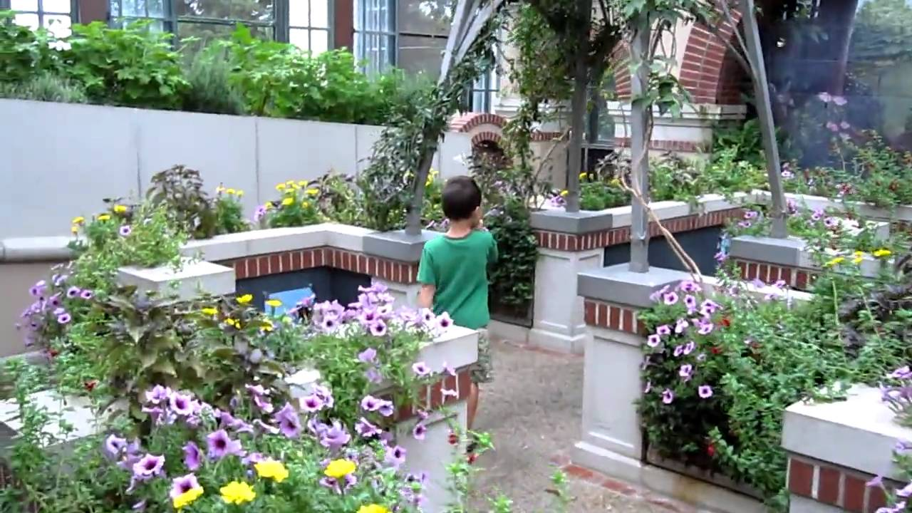 Longwood gardens pa children 39 s garden part 1 youtube for Landscaping longwood
