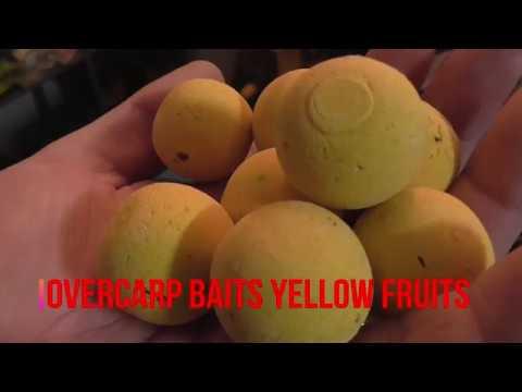 """OverCarp Baits Yellow Fruits & Acid Blend"" - DSM Store Italia"