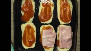 Баклажаны запечённые с ветчиной и сыром