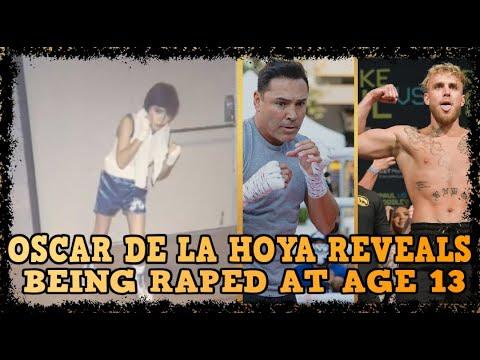 OSCAR DE LA HOYA REVEALS BEING R AT AGE 13