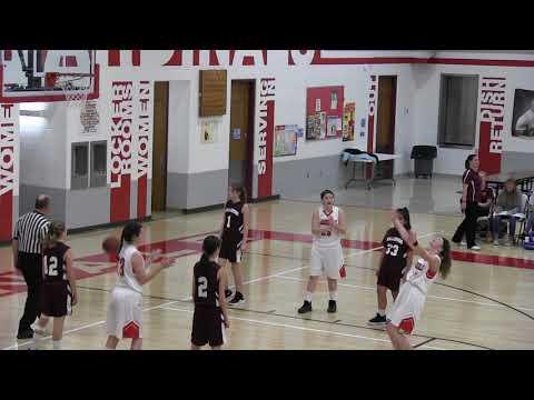 Hoisington Middle School Girls C-Team vs Hillsboro 12/13/18