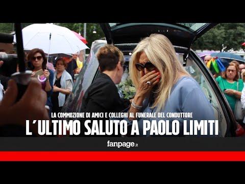 Funerali Paolo Limiti, Mara Venier in lacrime: 'Sapevo che era malato, ma non ero pronta a questo'