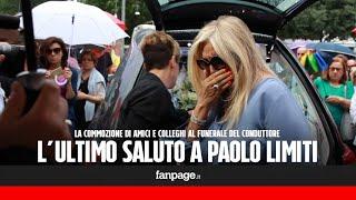 """Funerali Paolo Limiti, Mara Venier in lacrime: """"Sapevo che era malato, ma non ero pronta a questo"""""""