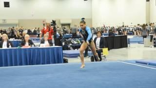 Haleigh Bryant - Floor Exercise - 2017 Women's Junior Olympic Championships