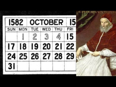 Why There Was No October 05,1582 | Today's Creation Moment