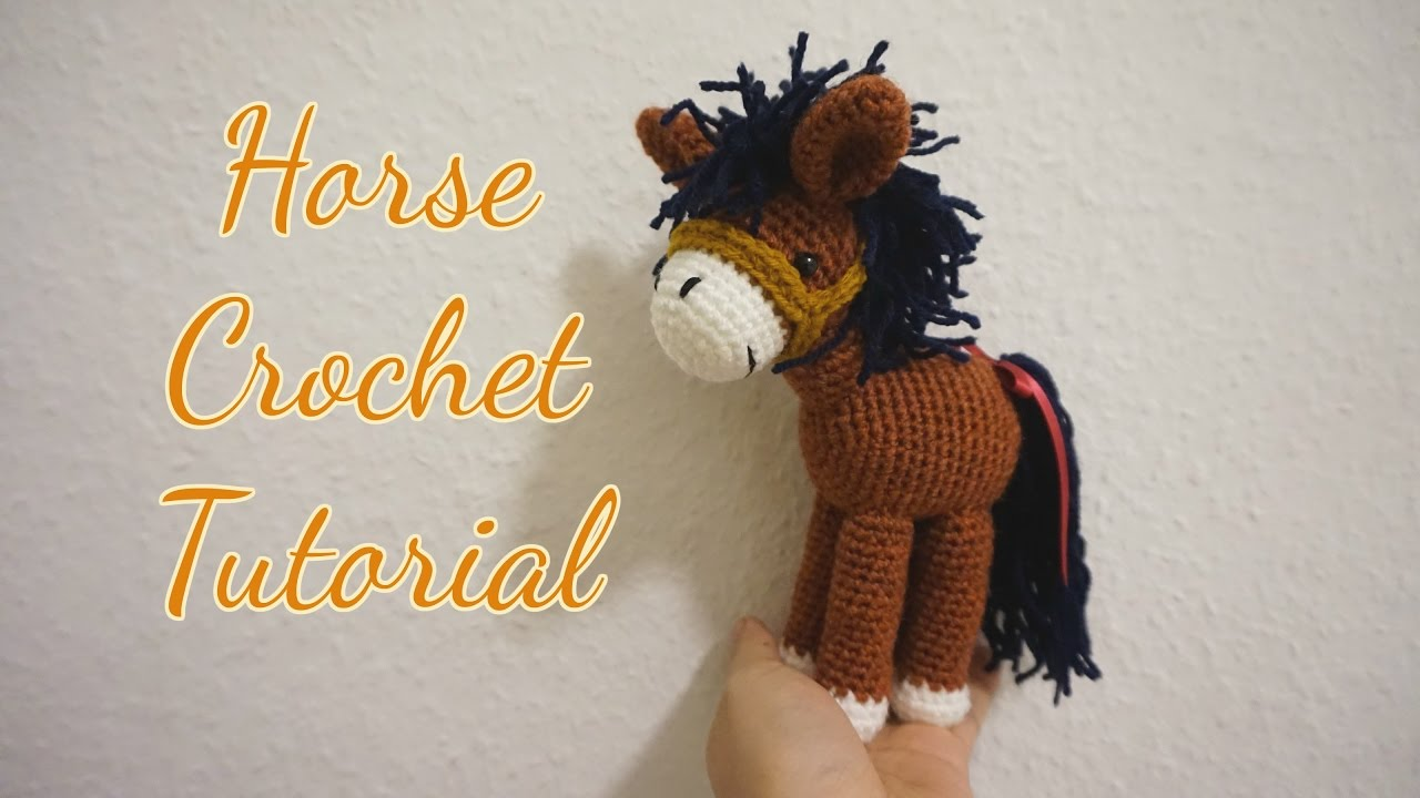 Amigurumi Horse Tutorial : Horse realistic amigurumi crochet pattern by thesoftscientist on