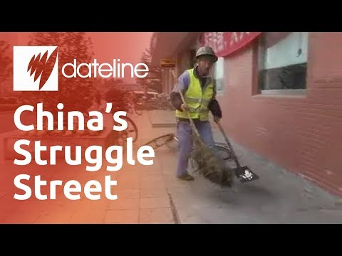 The daily grind for China's poor