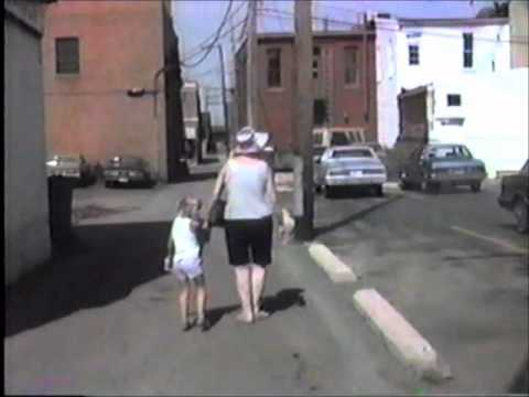 Downtown Lancaster Ohio 1988 Featuring