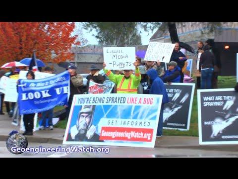 Northern California Protests Expose Geoengineering Cover-Up ( GeoengineeringWatch.org )