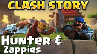 Clash of Clans/Clash Royale Story | How were the ZAPPIES Created? Where did the HUNTER come from?
