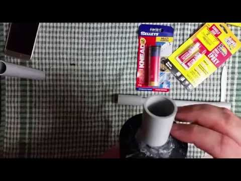 simple Homemade nerf Drain blaster extremely powerful