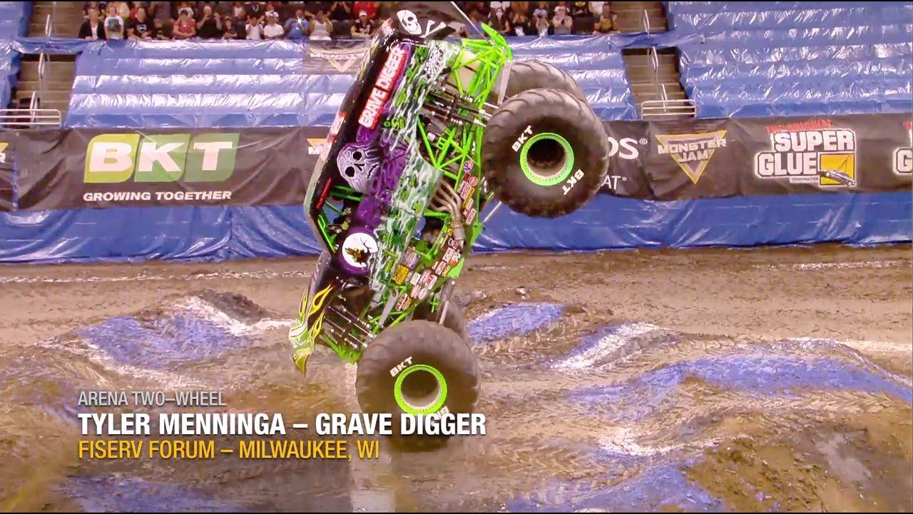 2021 Monster Jam Awards Nominees - Arena Two-Wheel