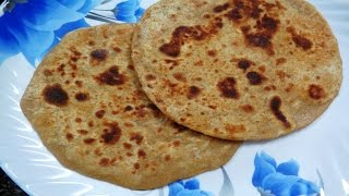 Plain Paratha Recipe- How to make paratha- Simple Basic Paratha- Wheat flour Paratha Recipe- Easy