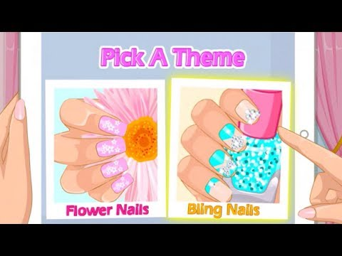 Best Mother's Day Nails Art Work Gameplay Fun Nails Decoration Video Tutorial