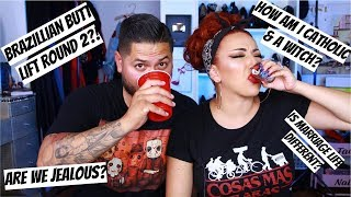 TEQUILA SHOTS WHILE ANSWERING YOUR QUESTIONS! | Q&A