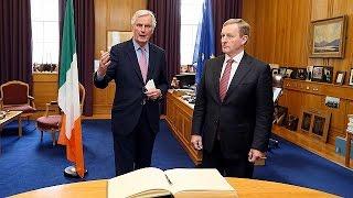 На переговорах с Лондоном Брюссель и Дублин будут заодно