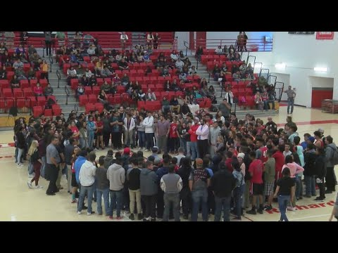 Bernalillo High shows support for Aztec in wake of deadly shooting
