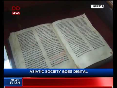 Asiatic Society goes digital