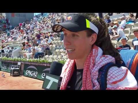 Johanna Konta: 2019 Roland Garros Third Round Win Tennis Channel Interview