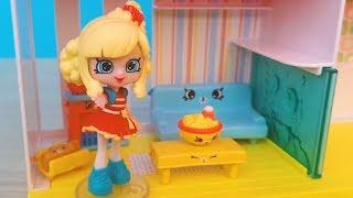 Розпакування Ігровий набір Happy Places Home Щасливий Будинок ексклюзивна лялечка Popette 9 петкинсов