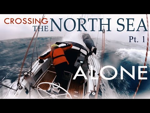 Crossing the North Sea Alone- Wintertime. Challenge completed! Pt 1.