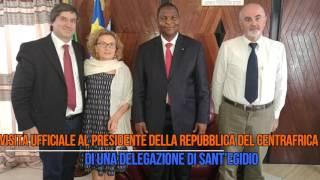 Centrafrica 2016 - Missione con il viceministro Mario Giro