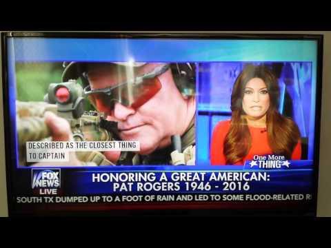 Kim Guilfoyle honoring Pat Rogers on Fox New