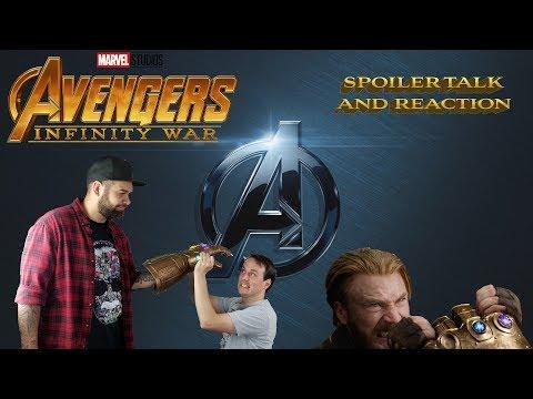 Avengers Infinity War SPOILER TALK