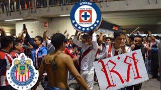 SALIDA BARRA IRREVERENTE, REJA & AFICIÓN - CHIVAS VS CRUZ AZUL 1-3