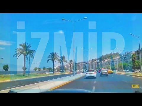 Tour of Izmir, Driving in Izmir, Turkey (Trip)
