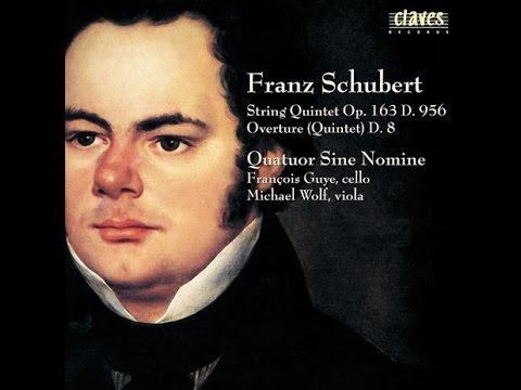 Quatuor Sine Nomine - Franz Schubert: String Quintet in C Major - Op. 163, D. 956