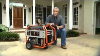 Generac and Danny Lipford - Safe Portable Generator Operation