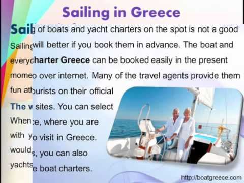Bareboat Charters in Greece, boatgreece.com