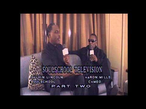Soul School Interview w/Aaron Mills of Cameo - Pt. 2